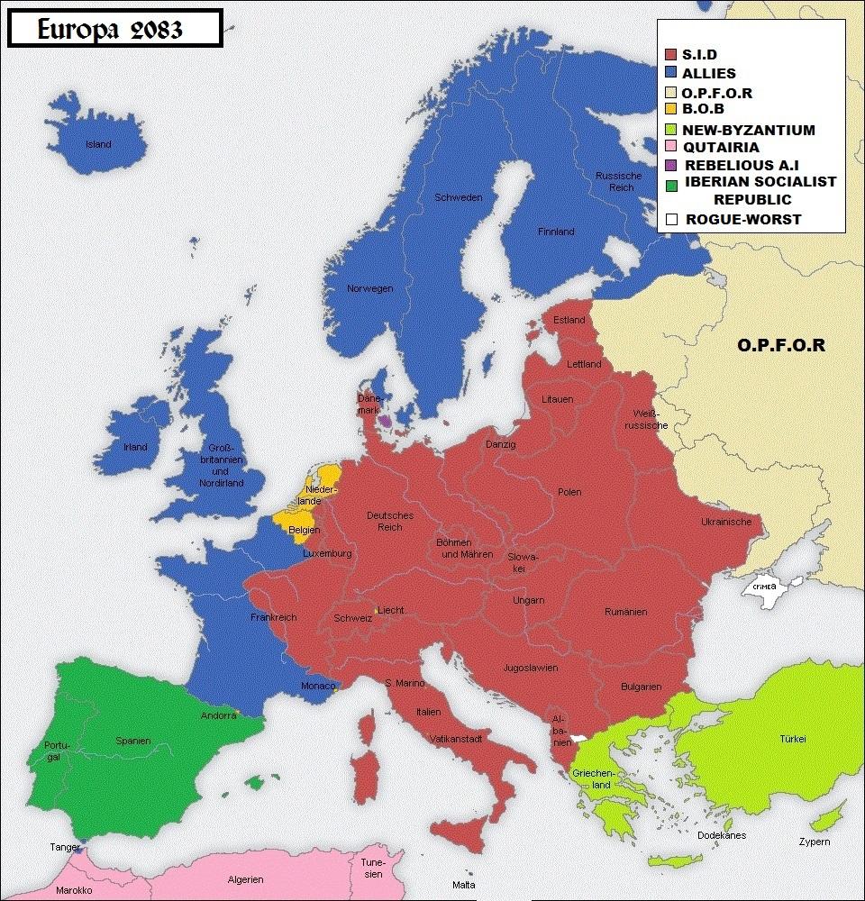 landene i europa
